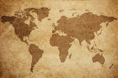 Fotografie World map texture background