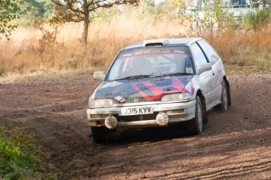 Honda Civic rally car