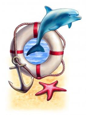 Marine composition