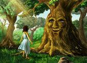 Fotografie sprechender Baum
