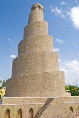 Spiral minaret samarra mosque
