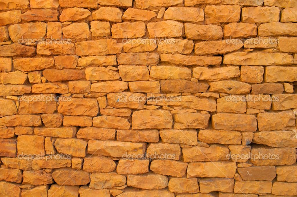 Muro Di Mattoni Rosso Antico Per Scopo Di Sfondo Foto Stock
