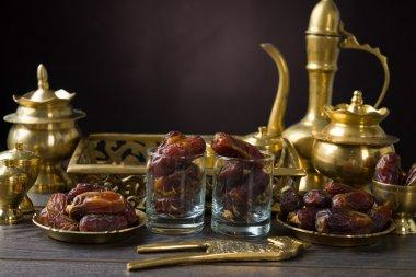 ramadan food also known as kurma , Palm dates