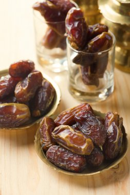 Red dates or kurma, traditional food in middle east