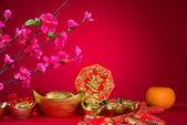 Fotografie Chinesisches Neujahr-Dekorationen, Generci chinesische Zeichen symbolisieren