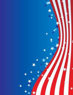 patriotic american july vector