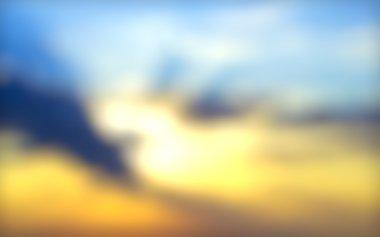 Colorful sky and sunrise