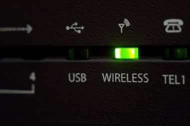 Wireless diode on cable modem