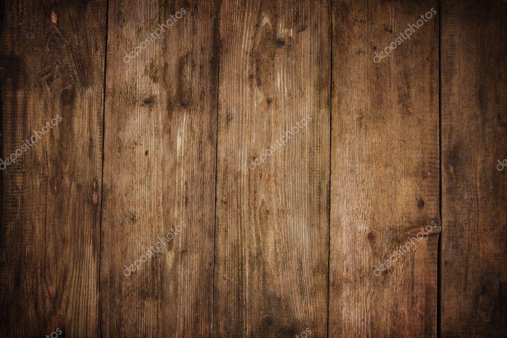 Textura De Madera Tablón Grano