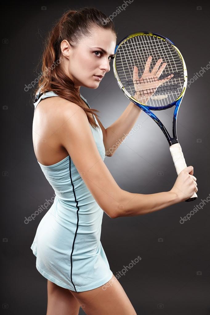 Сексуальные спортсменки теннис волейбол