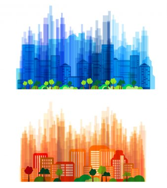 Urban landscape stock vector