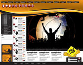 Website-Design-Vorlage, Vektor-