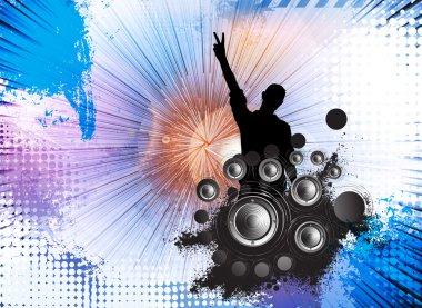 Music concert illustration
