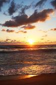 ohnivé pozadí slunce ráj