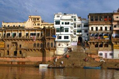Ganga River stock vector