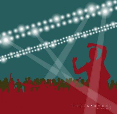 Disco club poster