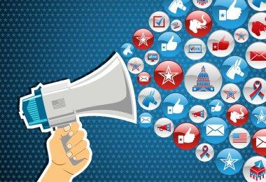 US elections: politics message promotion