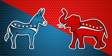 USA elections Democratic vs Republican party