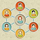 sociální sítě online marketing interakce