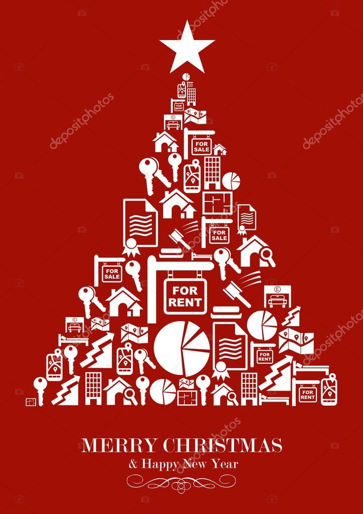 Real estate industry Christmas Tree