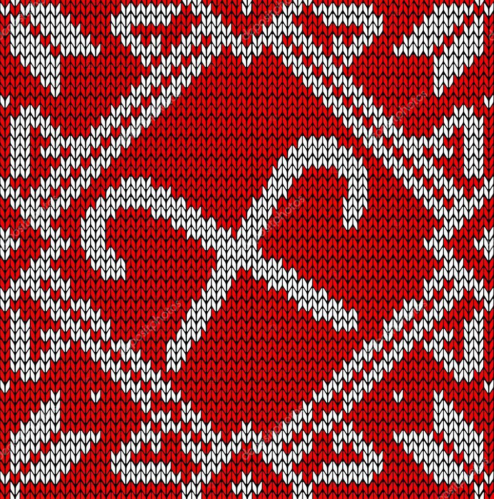 patrón dulce de Navidad para hacer punto — Archivo Imágenes ...