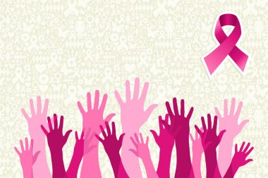 Global breast cancer awareness campaign