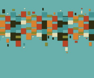 Geometric vintage pattern