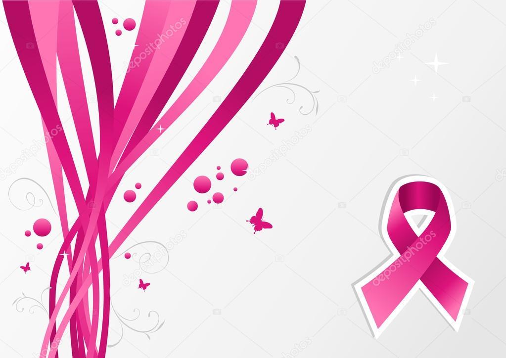 Vector: cinta de cáncer de mama | Concientización del cáncer del ...