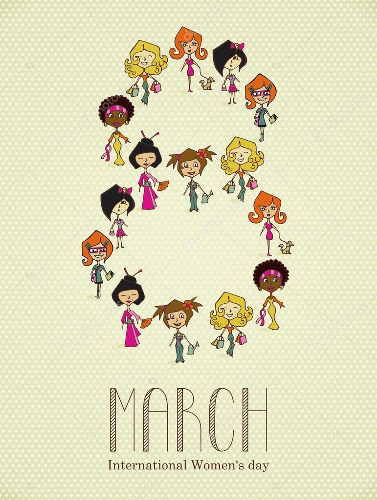 Imágenes Igualdad Para Dibujar Faciles Día De La Mujer Diversidad