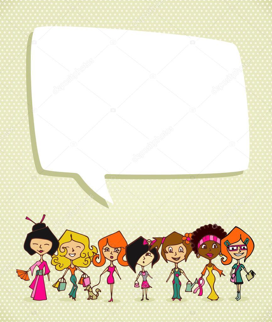 Değişim 8 Mart Dünya Kadınlar Günü Stok Vektör Cienpies 21465933