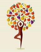 Fényképek Indiai jóga gyümölcsfa