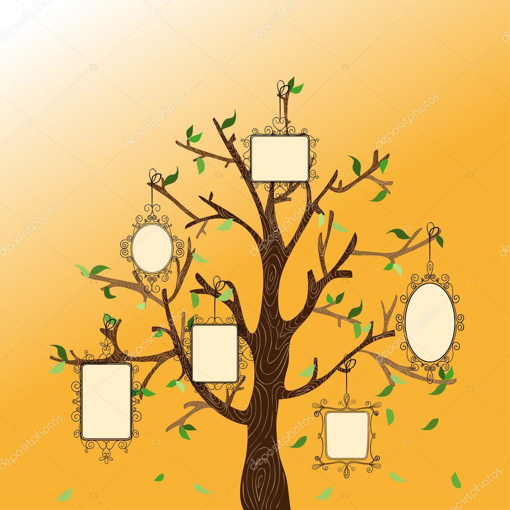 Fotos Arbol Genealogico Para Colocar Y Colorear árbol De