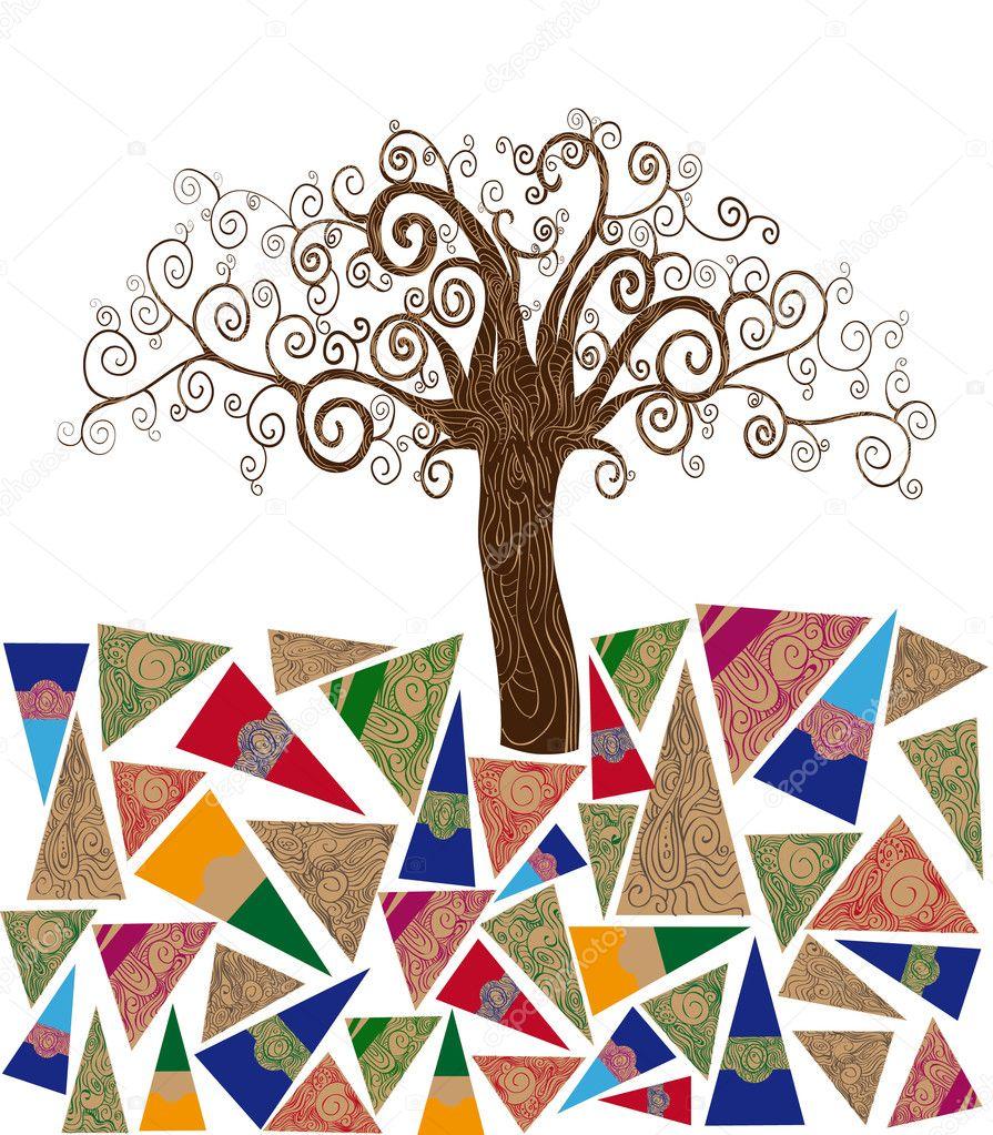Art tree concept