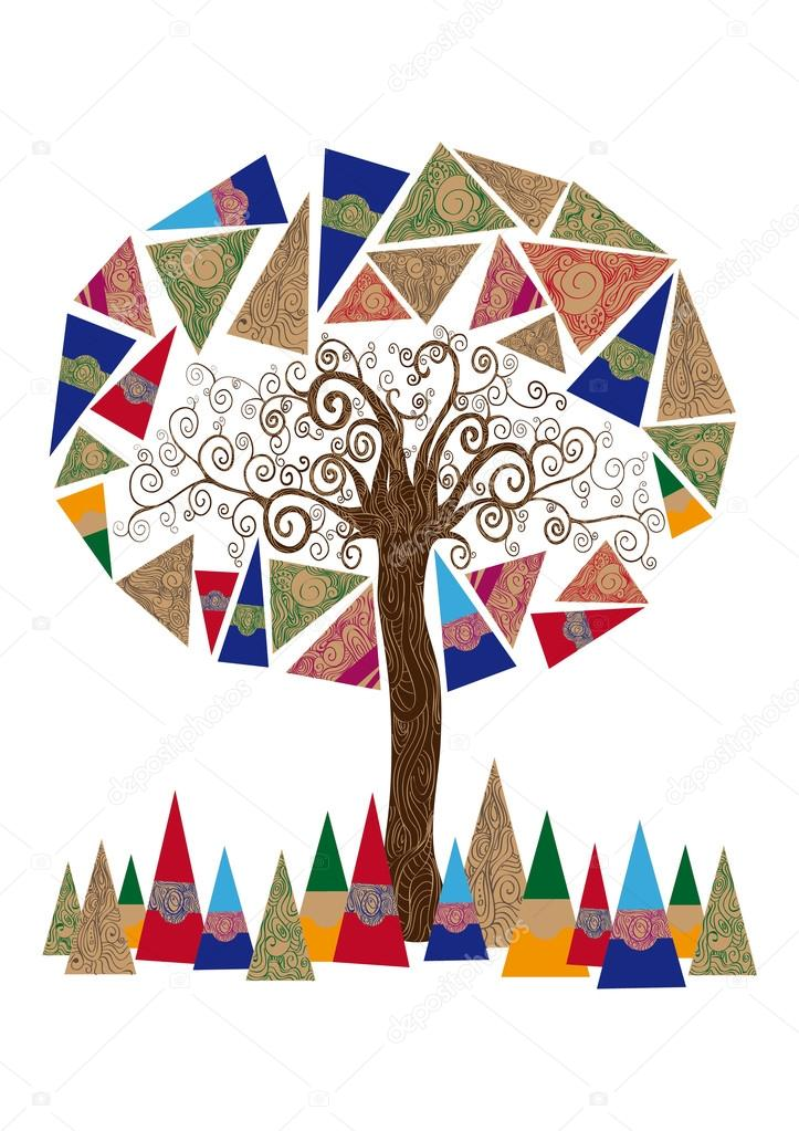 Abstract tree concept