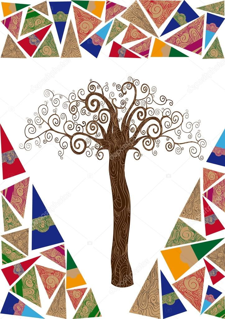 Art noveau tree idea