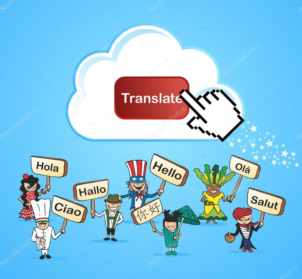 Global translate concept