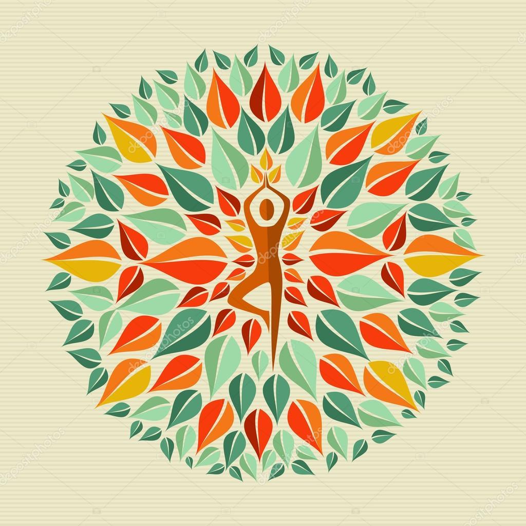 mandala yoga India — Archivo Imágenes Vectoriales © cienpies #27643787