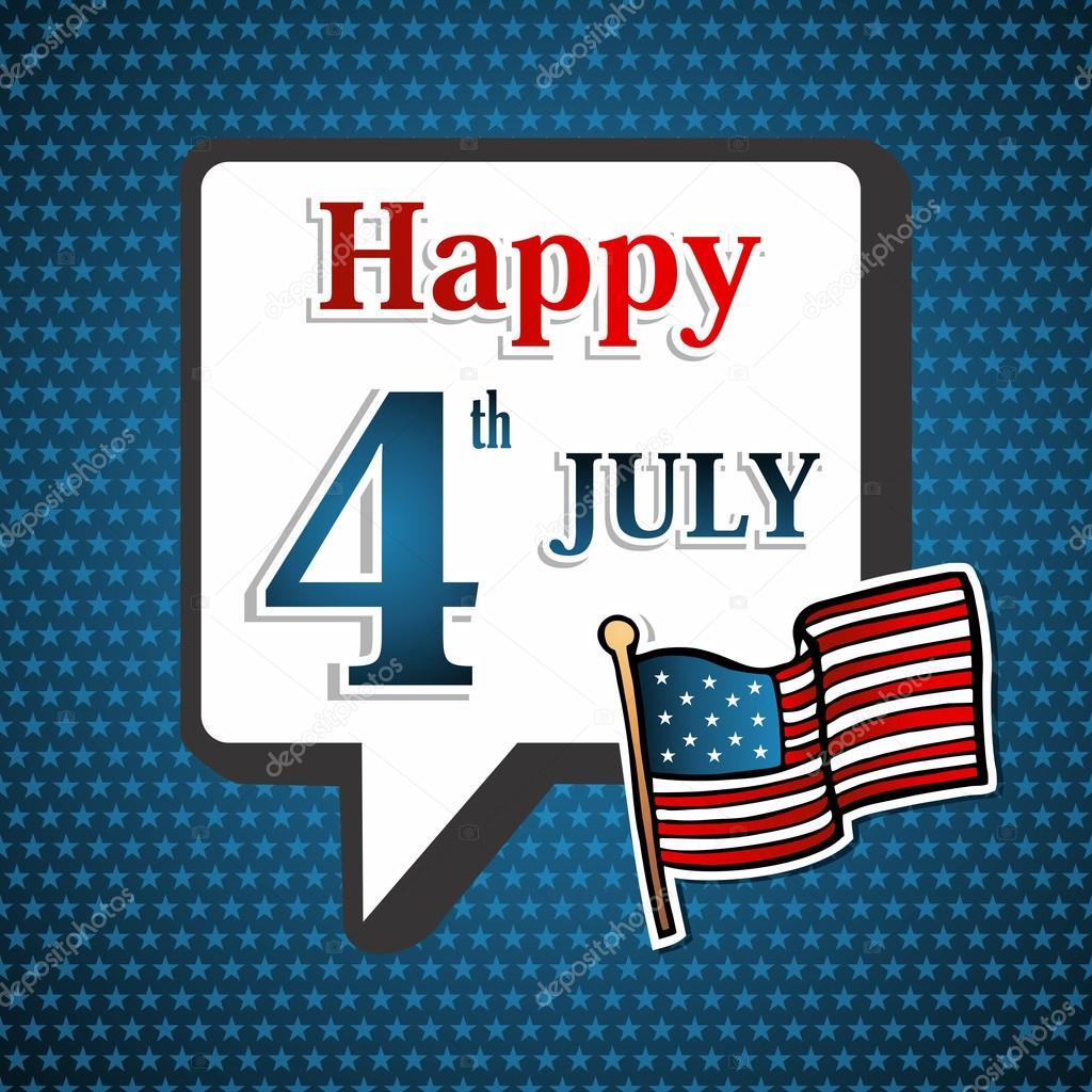 Fondo de día de la independencia de Estados Unidos — Archivo ...