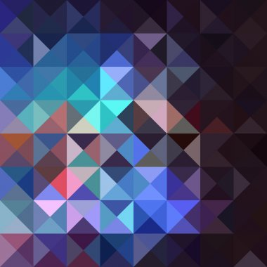 Unusual vintage abstract geometric pattern.