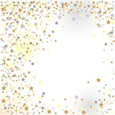 Confetti, New Year's celebration - vector background clip art vector