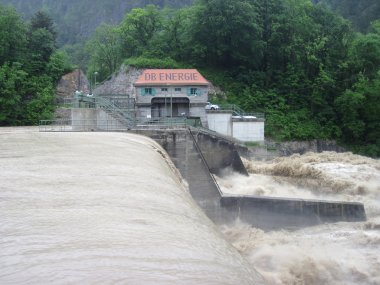 Flash Flood. Natural Disaster. Dam.