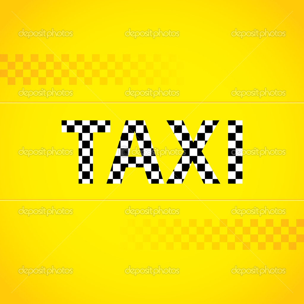 Дизайн фона такси — Векторное изображение © vipervxw #19830175
