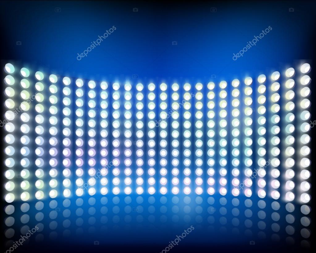 Wall of lights vector illustration stock vector silvae 33816091 wall of lights vector illustration stock vector aloadofball Image collections