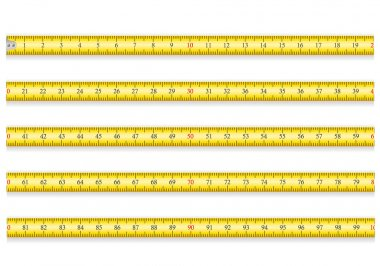 measuring tape for tool roulette vector illustration EPS 10