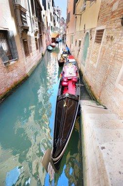 Venice landscape with a gondola