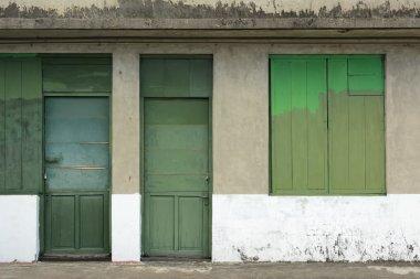 Old grunged door