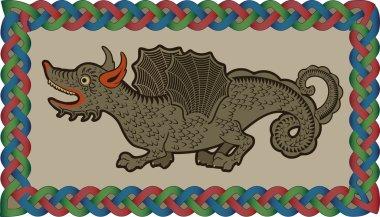 Irish dragon