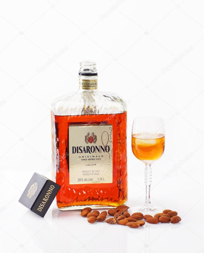 Amaretto liquor