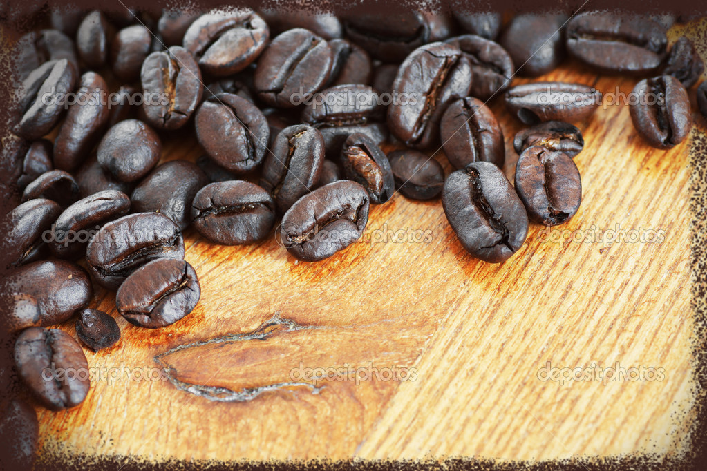 Framed coffee beans — Stock Photo © Mirage3 #41213779
