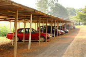 Fotografie Afrikanische carport